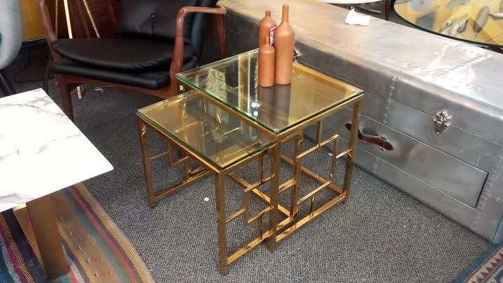 Brass Nesting Tables